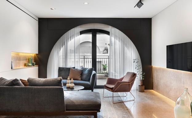 דירה בממילא, עיצוב סטודיו חזק (6) (צילום: עודד סמדר)