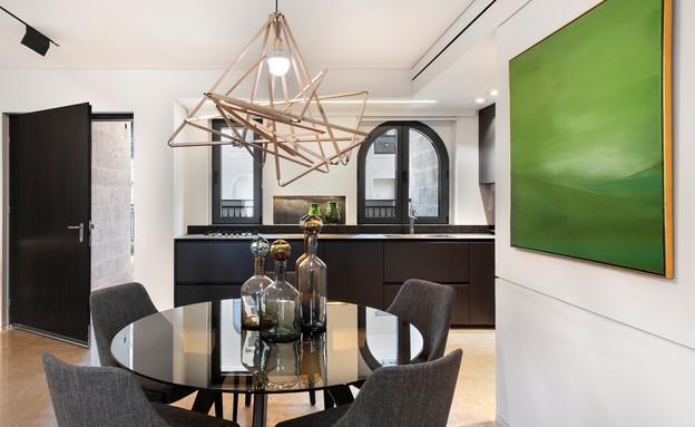 דירה בממילא, עיצוב סטודיו חזק (14) (צילום: עודד סמדר)