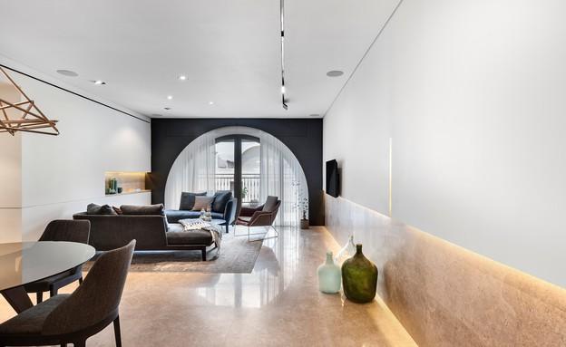 דירה בממילא, עיצוב סטודיו חזק (22) (צילום: עודד סמדר)