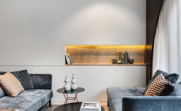 דירה בממילא, עיצוב סטודיו חזק (3) (צילום: עודד סמדר)