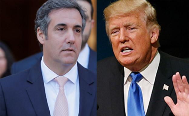 טראמפ ומייקל כהן, עורך הדין הפרטי שלו (צילום: רויטרס)