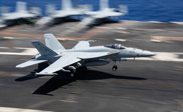 F/A-18 (צילום: US Navy)