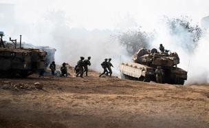 """חטיבת גולני תרגלה לחימה נגד חיזבאללה (צילום: דו""""צ, חדשות)"""