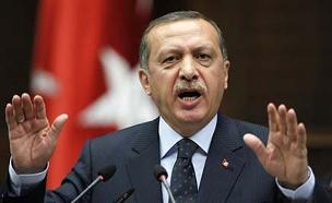 """טורקיה מגנה את הבנייה ביו""""ש (צילום: רויטרס, חדשות)"""