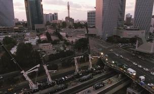 משבר הגשר: כמה עובדים בשבת? (צילום: רכבת ישראל, חדשות)