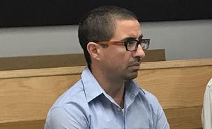 אלון קסטיאל בבית המשפט (צילום: החדשות)