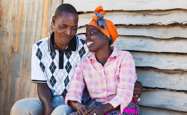 זוג אפריקאי (צילום: Nolte Lourens, shutterstock)