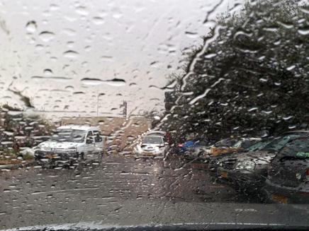 גשם בצפון