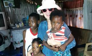 רחל ומקס בגאנה (צילום: רחל גלעד וולנר)