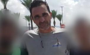"""עדכונים מחקירת התקיפה בחוף (צילום: מתוך """"חדשות הבוקר"""" , קשת 12)"""
