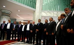 ראשי פתח וחמאס בקהיר, ארכיון (צילום: רויטרס, חדשות)