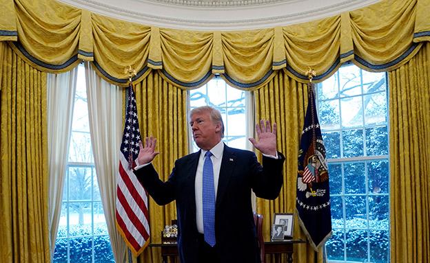 טראמפ נגד גוגל נגד טראמפ (צילום: רויטרס, חדשות)