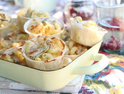 מאפה פסטה אישי עם לימון וארטישוקים