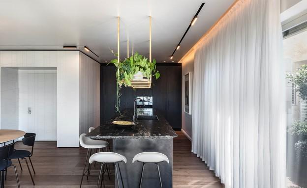 דירת גג בתל אביב, עיצוב אושרי אבירם ודנה קושמירסקי (5) (צילום: עודד סמדר)