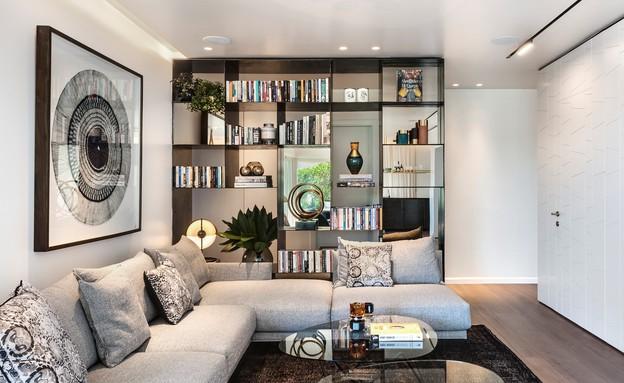 דירת גג בתל אביב, עיצוב אושרי אבירם ודנה קושמירסקי (7) (צילום: עודד סמדר)