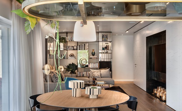 דירת גג בתל אביב, עיצוב אושרי אבירם ודנה קושמירסקי (8) (צילום: עודד סמדר)
