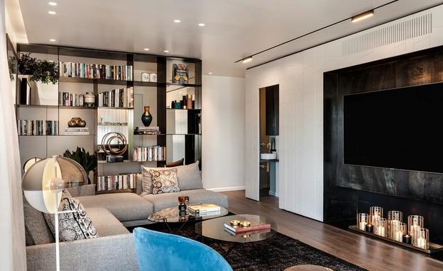דירת גג בתל אביב, עיצוב אושרי אבירם ודנה קושמירסקי (10) (צילום: עודד סמדר)