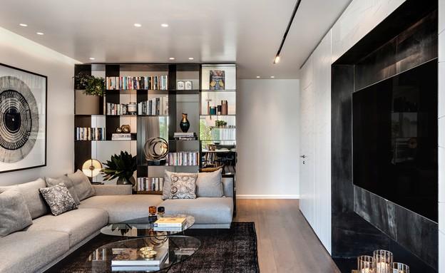 דירת גג בתל אביב, עיצוב אושרי אבירם ודנה קושמירסקי (13) (צילום: עודד סמדר)