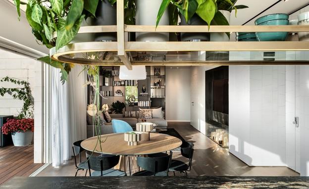 דירת גג בתל אביב, עיצוב אושרי אבירם ודנה קושמירסקי (32) (צילום: עודד סמדר)