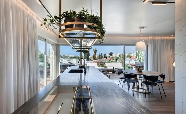 דירת גג בתל אביב, עיצוב אושרי אבירם ודנה קושמירסקי (2) (צילום: עודד סמדר)