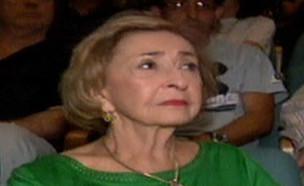 """ליא קניג אחרי שחשה ברע במהלך הצגה (צילום: מתוך """"חדשות הבוקר"""" , קשת 12)"""