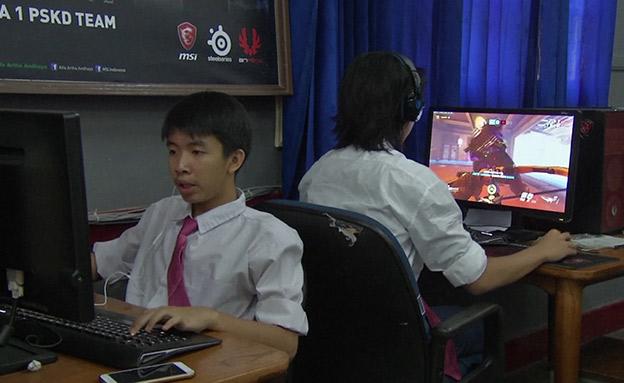 חדש בבית הספר: מגמת משחקי מחשב (צילום: AP, חדשות)