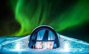 מלון קרח (צילום: אסף קליגר, אינסטגרם)