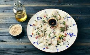 סביצ'ה בורי אסייתי של עומר מילר (צילום: אמיר מנחם, אוכל טוב)