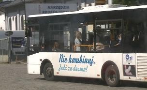 אוטובוס בעיר זורי שבפולין (צילום: PL TVN, חדשות)