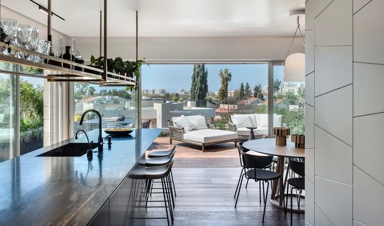 דירת גג בתל אביב, עיצוב אושרי אבירם ודנה קושמירסקי (9) (צילום: עודד סמדר)