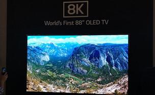 טלוויזיה ברזולוציית 8K של LG (צילום: אהוד קינן, ברלין, NEXTER)