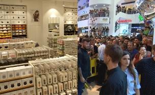 מההשקות הנוצצות לחנויות ריקות (צילום: החדשות)
