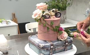 אופניים, חבית וסרטן – על עוגה? (צילום: רויטרס, חדשות)