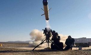 """ניסוי טיל הספייק החדש (צילום: רפאל מערכות בע""""מ, חדשות)"""