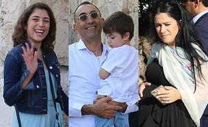 מיקי מוכתר, ישראל קטורזה, רוני דלומי (צילום: פול סגל)