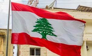דגל לבנון (צילום: Diego Fiore, ShutterStock)
