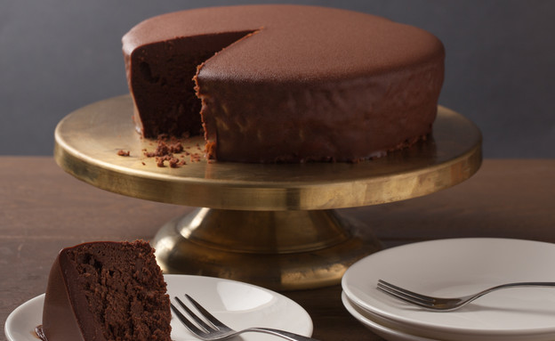 עוגת שוקולד בייקרי (צילום: דניאל אלבלק)