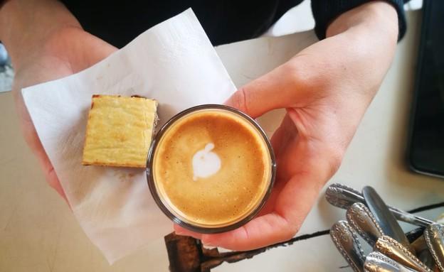 קפה בקפה לוינסקי  (צילום: בני בריגה )