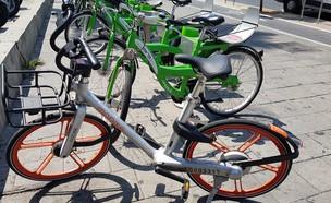 אופני מובייק ואופני תל אופן בתל אביב (צילום: דנה גוטרזון)
