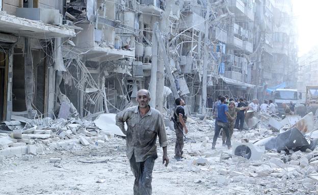 מלחמת האזרחים בסוריה, חלב (צילום: רויטרס, חדשות)