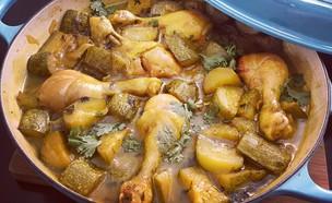 עוף עם קישואים, יונית צוקרמן (צילום: יונית סולטן צוקרמן, אוכל טוב)