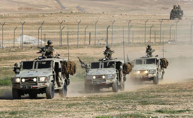 צבא ירדן (צילום: Jordan Prix/gettyimages)