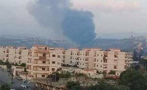 תקיפה בסוריה (צילום: חדשות)