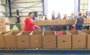230,000 טון אוכל ייזרקו בחגים (צילום: החדשות)