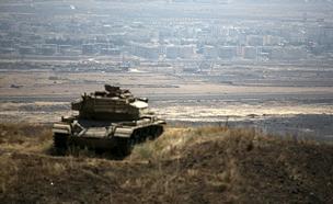 """כוחות צה""""ל בגבול ישראל-סוריהטראמפ, ארכיון (צילום: רויטרס, חדשות)"""