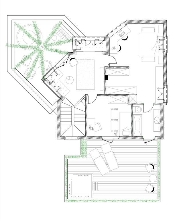 בית בנווה ירק, עיצוב סמי שלום כנפו - 1