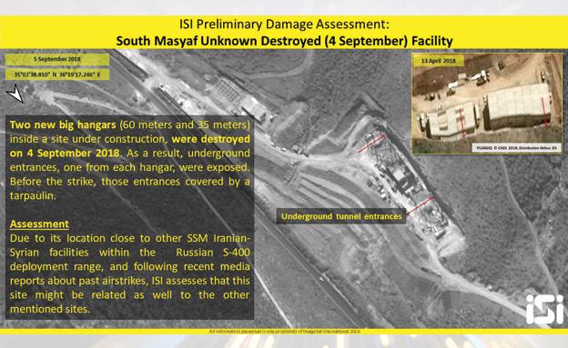הבסיס האירני שהותקף בחמה בשבוע שעבר (צילום: ImageSat International (ISI), חדשות)