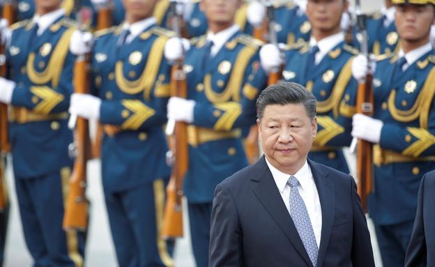"""""""מאחלים"""" לרפואתו במחנות. נשיא סין שי (צילום: רויטרס, חדשות)"""