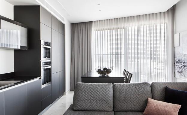 דירת קבלן בתל אביב, עיצוב דקלה וטורי ומיכל גוריון (צילום: איתי בנית)