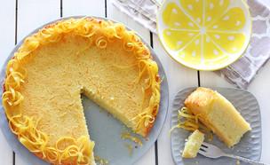 עוגת סולת לימונית אוורירית (צילום: ענבל לביא, אוכל טוב)